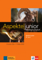 Aspekte junior B1 plus  Medienpaket (3 CDs + Video)