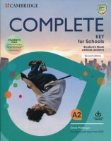 Complete Key For Schools Student's Book Without Answers  + Online Practice + Workbook Without Answers + Audio Download Exams 2020