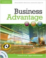 Business Advantage Upp-Int SB +DVD