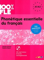 Phonetique essentielle du francais A1-A2 + CD MP3