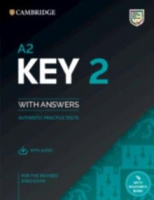 A2 Key 2 Student's Book с ответами + Audio  + Resorce Bank (2020 exam)