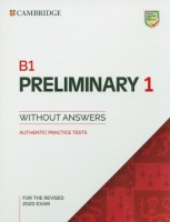 B1 Preliminary 1 for the Revised 2020 Exam Student's Book without Answers