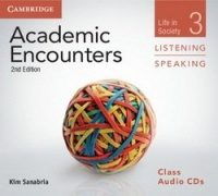 Academic Encounters (2nd Edition) 3: Life in Society Listening and Speaking Class Audio CDs (3)