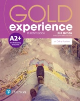 Gold Experience 2nd Edition A2plus Student's Book with Online Practice Pack
