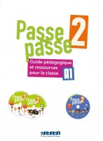 Passe - Passe 2 Guide pedagogique+2 CD MP3+DVD