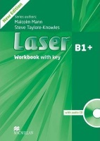 Laser 3rd Edition B1 plus Workbook with Key and Audio CD Pack