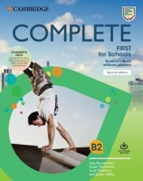 Complete First For Schools Student's Book Pack (Sb Wo Answers W Online Practice And Wb Wo Answers W Audio Download)