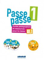 Passe - Passe 1 Guide pedagogique+2 CD MP3+DVD