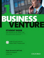 Business Venture 1 Elementary: Student Book with practice for the TOIEC test.: Student's Book Pack (Student's Book + CD)