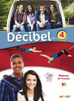 Decibel 4 Livre + CD mp3 + DVD