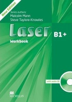 Laser 3rd Edition B1 plus Workbook without Key and Audio CD Pack