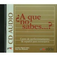A Que No Sabes? - CD Audio