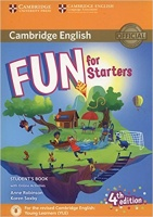 Fun for Starters 4Ed Student's Book with Online Activities with Audio