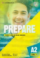 Prepare 2Ed 3 Student's Book with Online Workbook