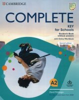Complete Key For Schools Student's Book Without Answers  + Online Workbook Exams 2020